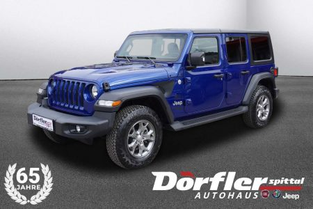 Jeep Wrangler Unlimited Freedom 2,2 CRDi Aut. bei Autohaus Dörfler in